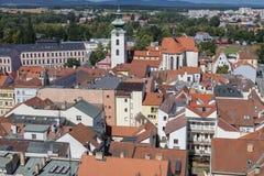 Ceske Budejovice, Budweis, Budvar, South Bohe Stock Photography