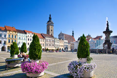 Ceske Budejovice, Czech republic Royalty Free Stock Photo