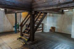 Free CESKE BUDEJOVICE, CZECH REPUBLIC - JUNE 14, 2016: Interior Of The Black Tower Cerna Vez In Ceske Budejovice, Czech Republ Stock Photography - 187308492