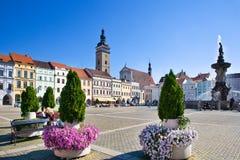 Ceske Budejovice, Republika Czech Zdjęcie Royalty Free