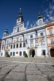 Ceske cuadrado Budejovice Imágenes de archivo libres de regalías