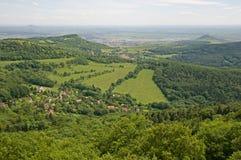 Ceske stredohori, Czech republic Stock Images