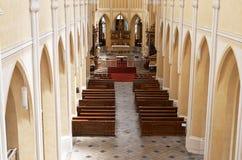 cesky捷克krumlov中世纪老共和国城镇视图 圣母玛丽亚的复活大教堂 2016年6月14日 图库摄影