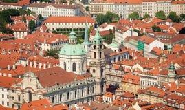 cesky捷克krumlov中世纪老共和国城镇视图 库存图片