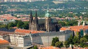 cesky捷克krumlov中世纪老共和国城镇视图 免版税图库摄影
