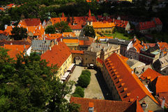 cesky捷克krumlov共和国 图库摄影
