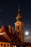 cesky εκκλησία krumlov Στοκ φωτογραφίες με δικαίωμα ελεύθερης χρήσης