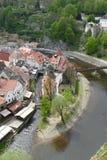 cesky πόλη krumlov Στοκ Εικόνα