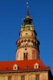 cesky πύργος krumlov Στοκ φωτογραφία με δικαίωμα ελεύθερης χρήσης