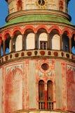 cesky πύργος krumlov Στοκ εικόνες με δικαίωμα ελεύθερης χρήσης