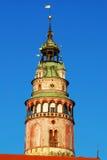 cesky πύργος krumlov Στοκ Εικόνες