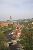 cesky τσεχική δημοκρατία krumlov Στοκ εικόνα με δικαίωμα ελεύθερης χρήσης