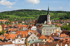 cesky τσεχική δημοκρατία krumlov στοκ εικόνες