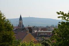 cesky τσεχική πόλης όψη δημοκρατιών krumlov μεσαιωνική παλαιά Άποψη της πόλης Μπρνο Στοκ εικόνες με δικαίωμα ελεύθερης χρήσης