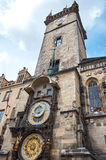 cesky τσεχική πόλης όψη δημοκρατιών krumlov μεσαιωνική παλαιά Πράγα αστρονομικό ρολόι Πράγα Στοκ Φωτογραφία