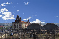 cesky τσεχική πόλης όψη δημοκρατιών krumlov μεσαιωνική παλαιά Πράγα Στοκ Εικόνα