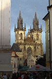 cesky τσεχική πόλης όψη δημοκρατιών krumlov μεσαιωνική παλαιά Πράγα Στοκ Φωτογραφίες