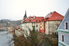 cesky τσεχική όψη δημοκρατιών krumlov Στοκ φωτογραφία με δικαίωμα ελεύθερης χρήσης