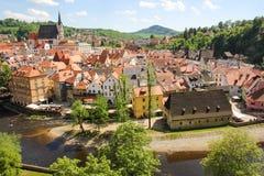 cesky чехословакская республика krumlov Стоковая Фотография