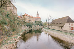 cesky чехословакская республика krumlov стоковое фото rf