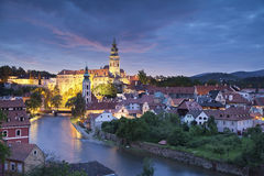 Cesky Kromlov, Czech Republic. Royalty Free Stock Photos