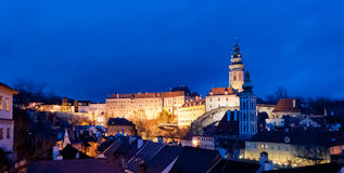 Cesky Krumlov, Δημοκρατία της Τσεχίας Στοκ εικόνα με δικαίωμα ελεύθερης χρήσης