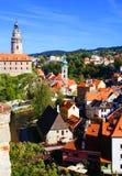 Cesky Krumlov, Δημοκρατία της Τσεχίας Στοκ φωτογραφίες με δικαίωμα ελεύθερης χρήσης