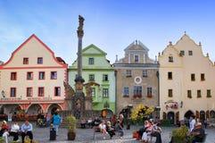 Cesky Krumlov, Δημοκρατία της Τσεχίας Στοκ φωτογραφία με δικαίωμα ελεύθερης χρήσης