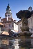 cesky krumlov κάστρων Στοκ εικόνα με δικαίωμα ελεύθερης χρήσης