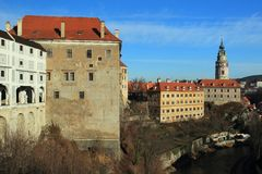 Cesky Krumlov Royalty Free Stock Photos