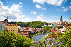 Free Cesky Krumlov Royalty Free Stock Photography - 49023107