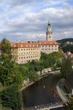 Cesky Krumlov Сastle. Cesky Krumlov Castle is a UNESCO World Heritage Site Royalty Free Stock Image