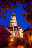 Cesky Krumlov Bell Tower Stock Photography