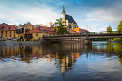 Cesky Krumlov, Bohemia. Royalty Free Stock Photo