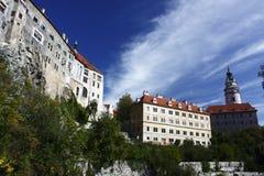 Cesky Krumlov castle Royalty Free Stock Photo