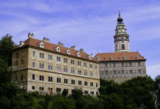 Cesky Krumlov Castle. Castle in Cesky Krumlove, Czech Republic Royalty Free Stock Photos