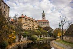 Cesky Krumlov. Castle Cesky Krumlov, Czech Republic royalty free stock photography