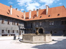 Cesky Krumlov castle, Czech Republic Royalty Free Stock Image