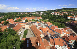 Cesky Krumlov Castle in Czech Republic. Royalty Free Stock Photos