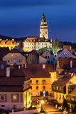 Cesky Krumlov Castle in Czech Republic Stock Image