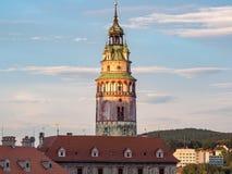 Cesky Krumlov castle (Krumau castle) Stock Photos