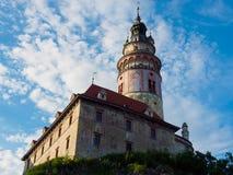 Cesky Krumlov castle (Krumau castle), UNESCO World Heritage Site Stock Photography