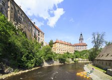 Cesky Krumlov Castle. Stock Image