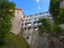 Cesky Krumlov, Checo Republik Fotos de Stock Royalty Free