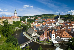 Cesky Krumlov The City Royalty Free Stock Images