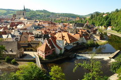 Cesky Krumlov city Royalty Free Stock Image