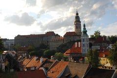 Cesky Krumlov city center. Nice old city center in Cesky Krumlov in Czech republic Stock Photography