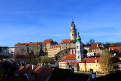 Cesky Krumlov in Czech Royalty Free Stock Photography