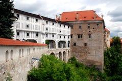 Cesky Krumlov, Czech Rep: Krumlov Castle Royalty Free Stock Image