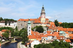 Cesky Krumlov, Czech Republic Stock Images